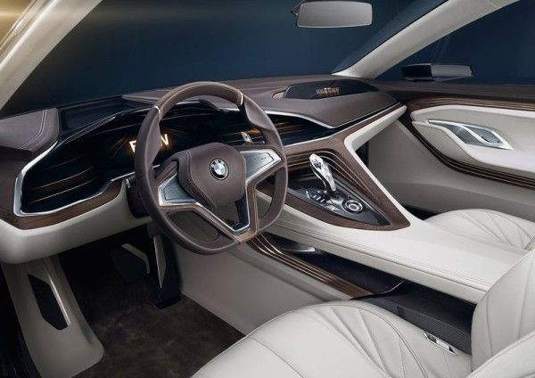 2014 BMW Vision Future Luxury Interior View