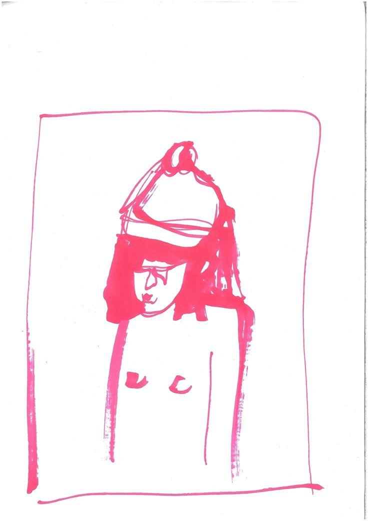 bobblehatred illustration  by ugnebalc