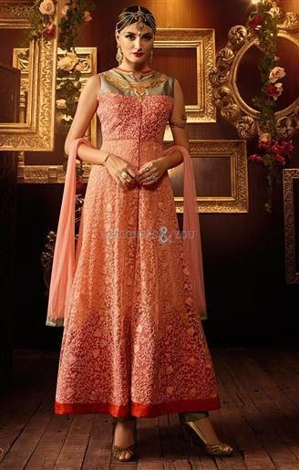 Indian reception dress sherwani style ladies suit  Visit http://www.designersandyou.com/dresses/anarkali-suits #AnarkaliSalwarKameez #AnarkaliUK #AnarkaliUSA #LongAnarkali #NewAnarkali #Anarkali2016