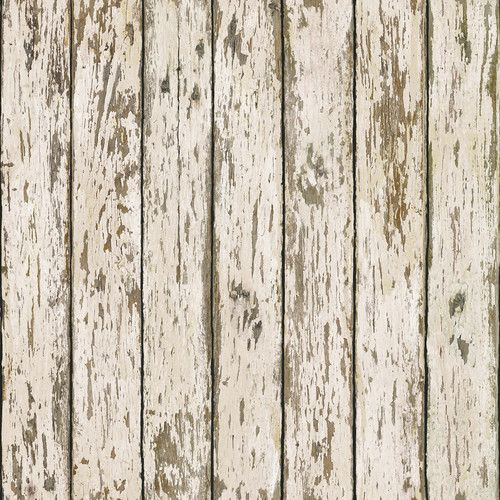 Chesapeake Harley Weathered Wood Stripes Wallpaper