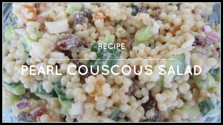 StyleNovice: Pearl Couscous Salad Recipe