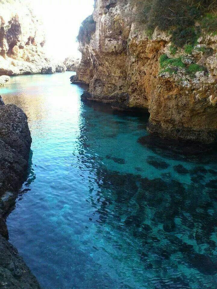 Cala Rafalet. Menorca, Illes Balears (Spain)