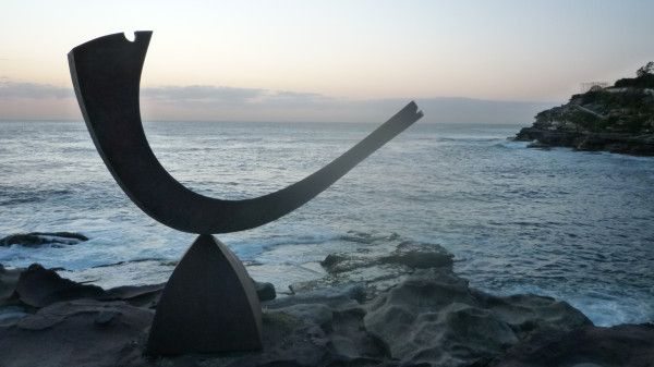 Sculptures by the Sea #Bondi #Sydney #Australia Art + Views. Very serene and special just before sunrise