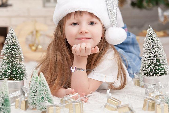 Στείλε Χριστουγεννιάτικες Ευχές για τις Ευχές! www.IVFforums.gr #christmas #makeawish #kids #KidsArt