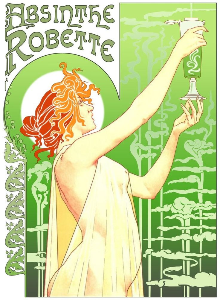 Absinthe…the seductive killer sweet of Gilded Age New Orleans by Ana Brazil