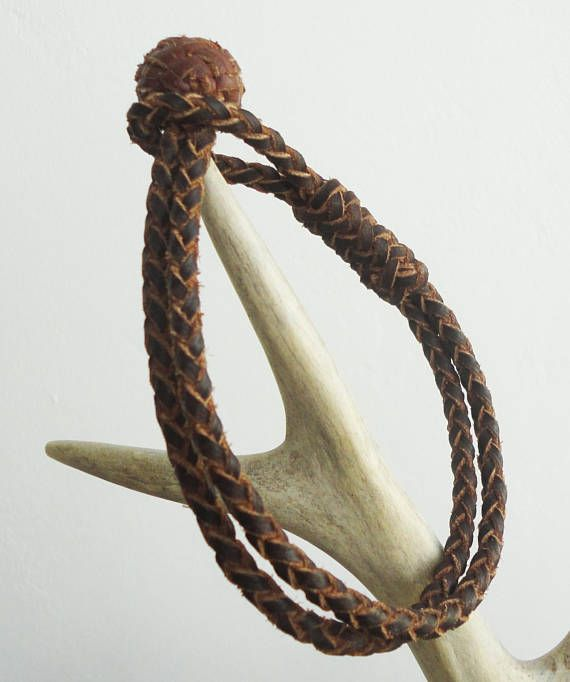 Hand craft unique bracelet. Leather Braided Jewelry  Leather