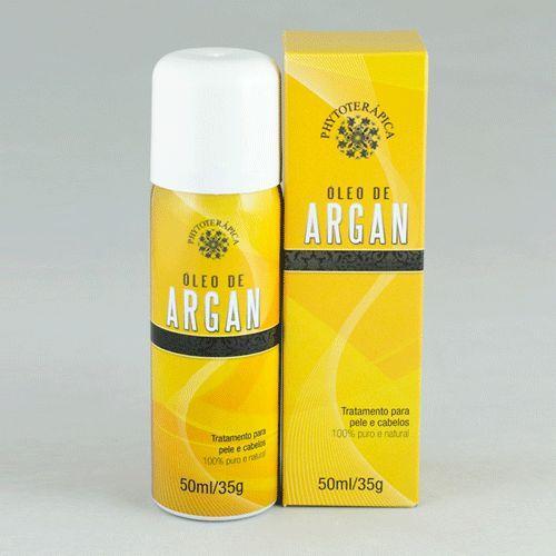 PHYTOTERAPICA Óleo de Argan - óleo de argan 100% puro em aerosol nutre cabelos secos ou danificados, dá brilho sem pesar. Pode ser usado no corpo como hidratante, previne estrias durante a gravidez e acelera o processo de cicatrização da pele. Vende online, farmácias de manipulação no Brasil. Preço Médio: R$40. #cosmeticdetox#oleodeargan#arganoil#hidratante#cabelo#moisturizer#crueltyfree#vegan#phytoterapica