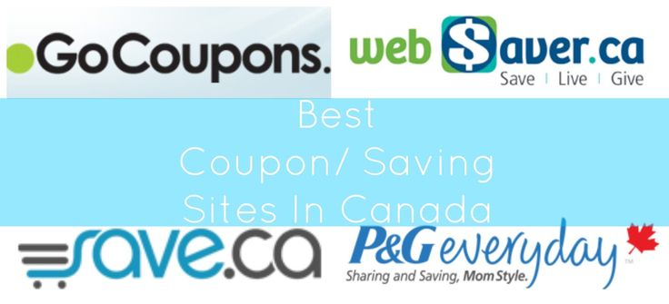 Best Coupon/ Saving Sites In Canada