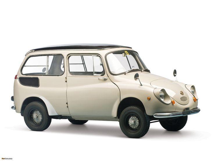 世 • carsinstudio: Subaru 360 Custom (1958)