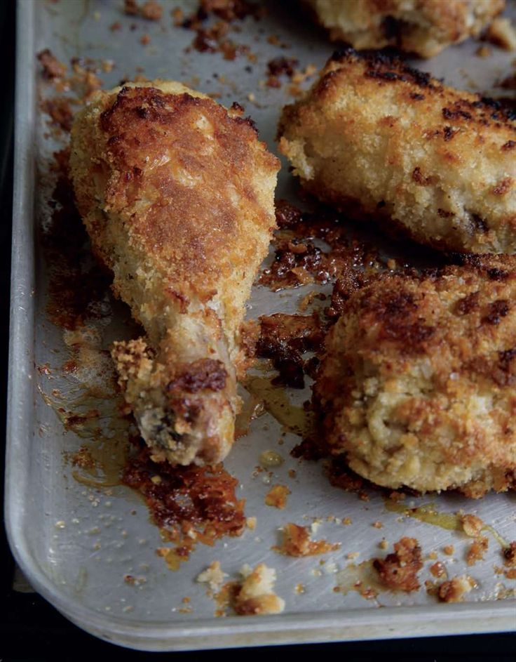 Oven-fried chilli chicken by Anjum Anand from Indian Food Made Easy | Cooked