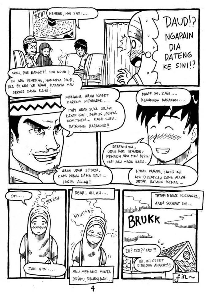 page 4-Komik Buatan Rohis Unair