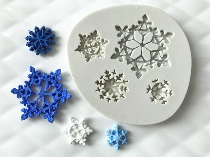Christmas Snowflakes Sillicone Cake Molds Chocolate Mould for the Kitchen Baking Sugarcraft Decoration Tools on Aliexpress.com | Alibaba Group