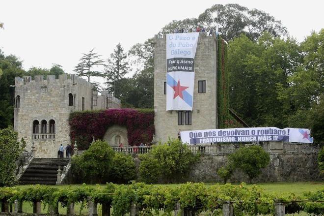 Feijóo pide a la familia Franco que done el Pazo de Meirás al patrimonio gallego si no asume cumplir la ley