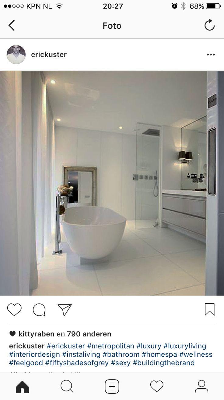 25 beste ideeà n over droombadkamers op pinterest badkamers