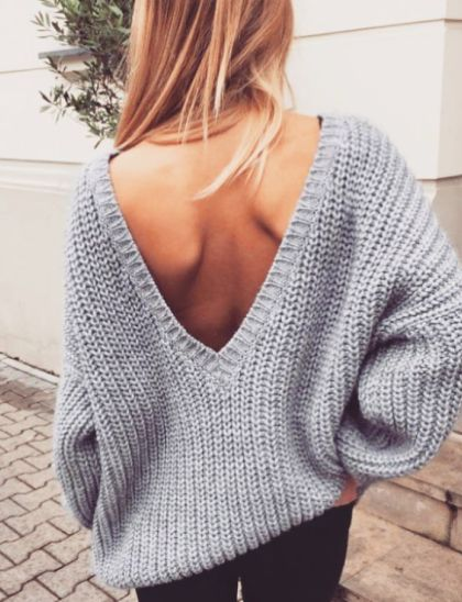v back sweaters