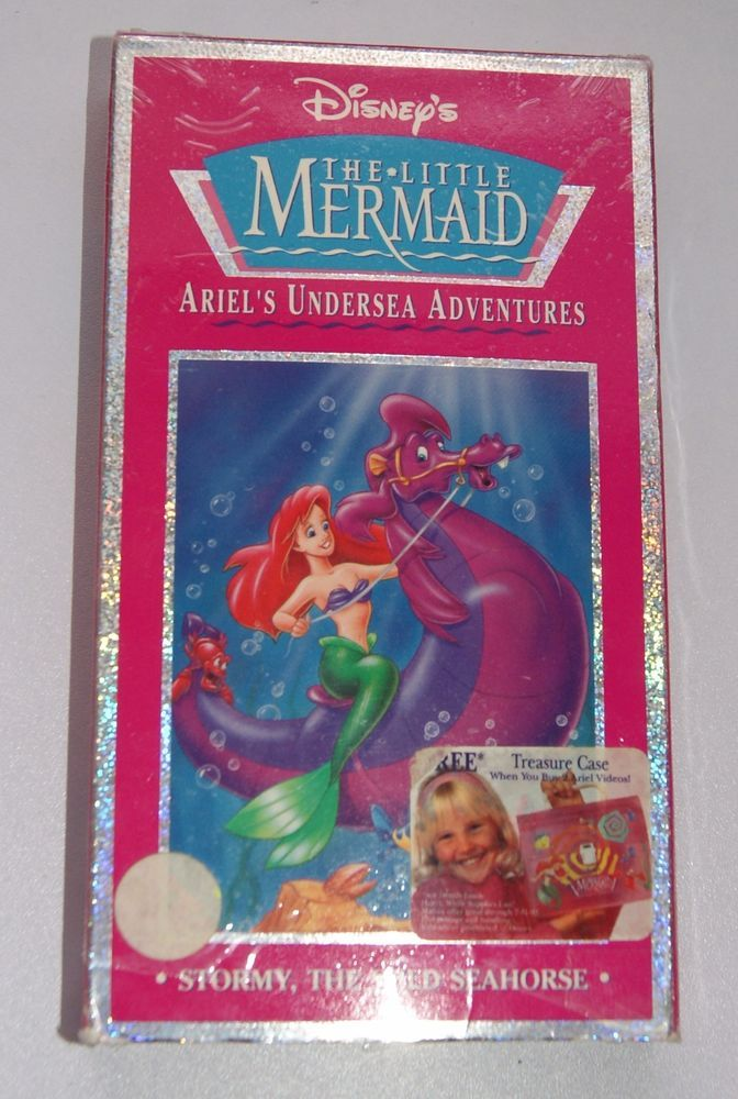 DISNEY The Little Mermaid (VHS) Ariel Undersea Adventures
