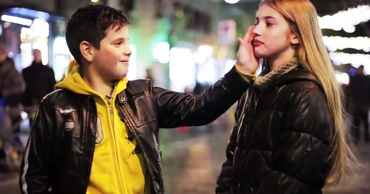 These boys ages 7-11 were asked to slap a girl. Watch what happens. (Spoiler: Little men with Big hearts)