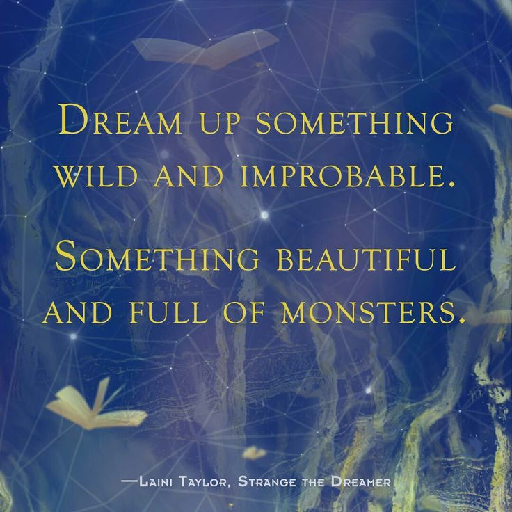 Image result for strange the dreamer quotes