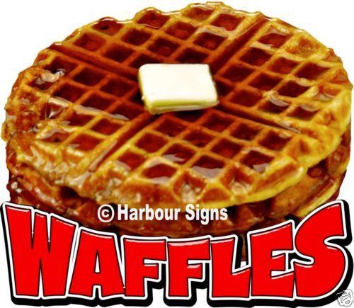 Waffles-Decal-14-034-Breakfast-Concession-Food-Truck-Restaurant-Vinyl-Menu-Sticker