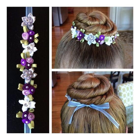 Sugarplum fairy bun wreath