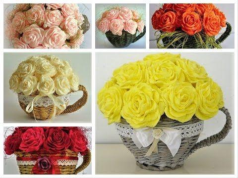 Filiżanki z różami