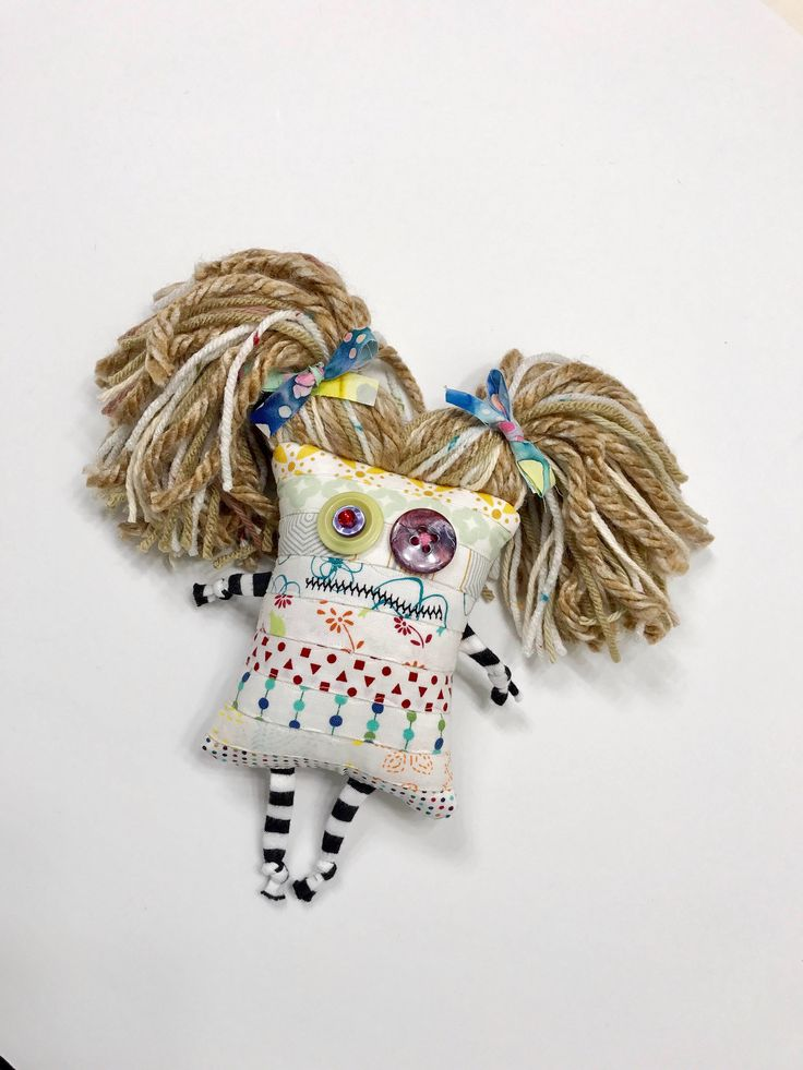 Zombie Pincushion Doll Softie Plushie Voodoo Monster by TheFiberChick on Etsy https://www.etsy.com/listing/556382737/zombie-pincushion-doll-softie-plushie