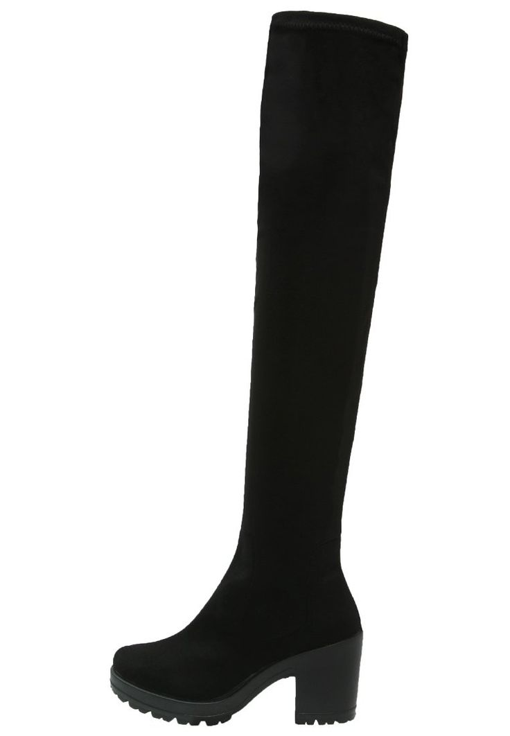 Miss Selfridge KYLIE Plateaustiefel black Schuhe bei Zalando.de | Obermaterial: Textil, Innenmaterial: Lederimitat/ Textil, Sohle: Kunststoff, Decksohle: Textil | Schuhe jetzt versandkostenfrei bei Zalando.de bestellen!