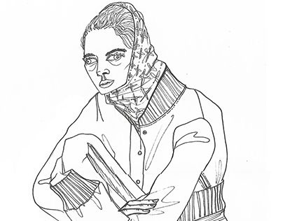 """Check out new work on my @Behance portfolio: """"free ink fashion illustrations""""…"""