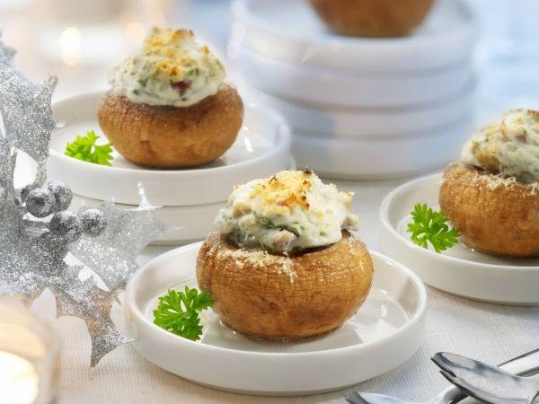 Gevulde champignons - Libelle Lekker!