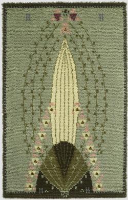 Ruusu rug design by Eliel Saarinen (1904)
