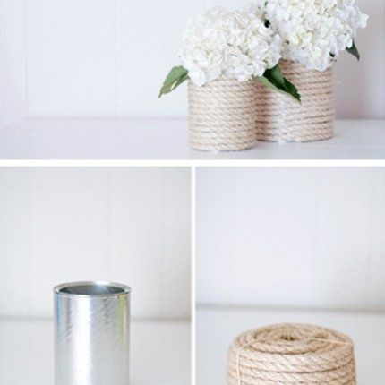 Un pot de fleur naturel - Marie Claire Maison