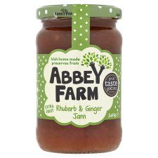 Abbey Farm Fruit Rhubarb And Ginger Jam 340G - Groceries - Tesco Groceries €2.99 Irish home made preserves from Abbey Farm