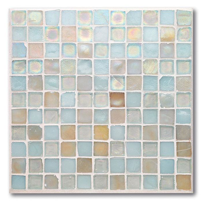 beach blonde glass mosaic tile bathroom beachfamily bathroombathroom ideasmosaic