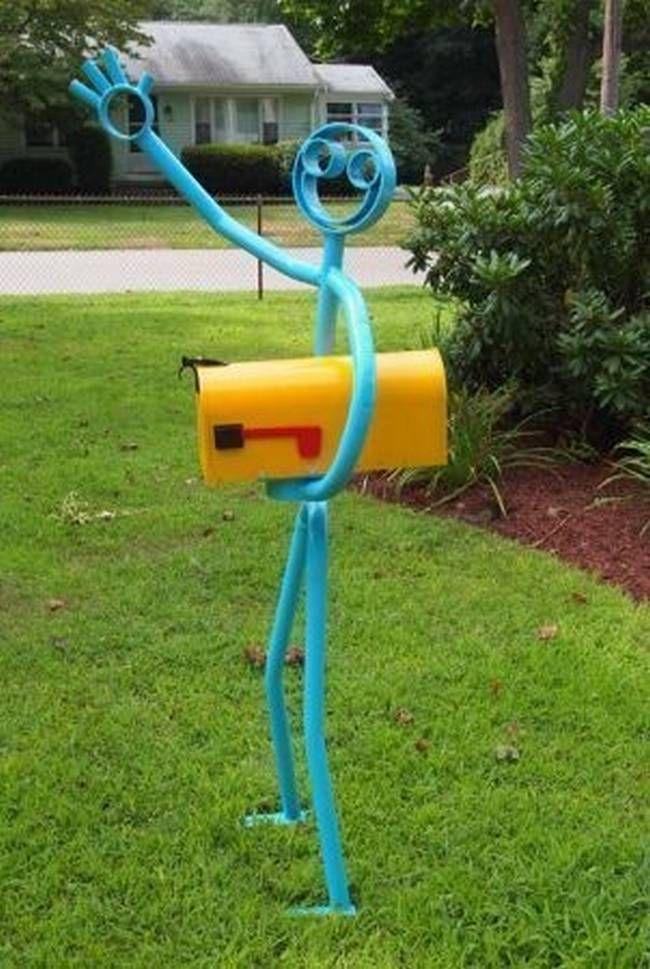 A criatividade está por todos os lados e não poupa nem as caixas de correspondência.