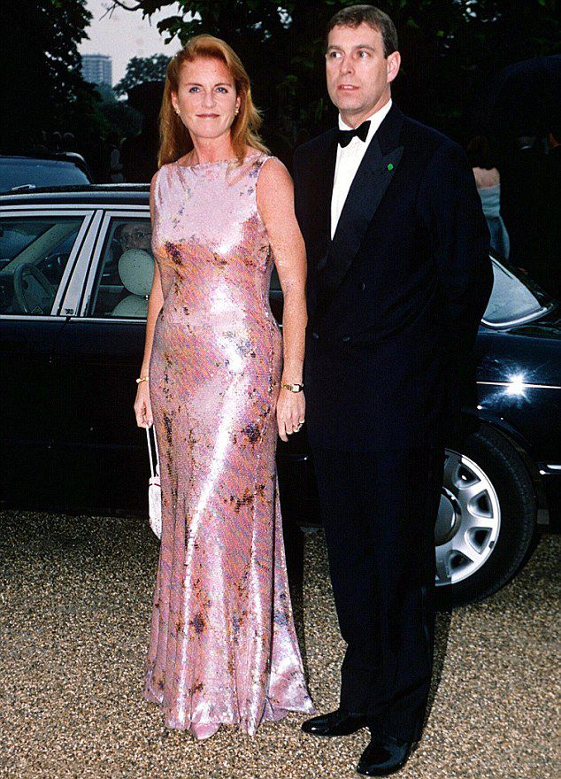 Talking point...The Duke and Duchess of York, pictured together in London in 2000, have both previously spoken about getting married again