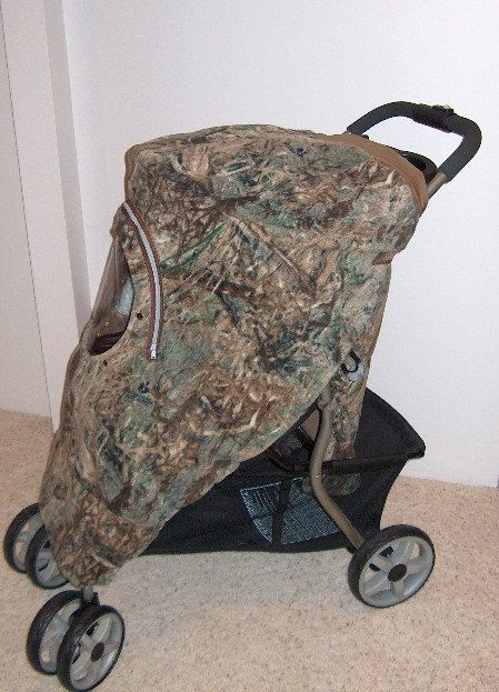 """Cozy Custom Embroidery """"My 1st Deer Stand or My Little Dear"""" Mossy Oak Duck Blind Fleece Infant Car Seat Carrier Stroller & Jogger Cover Up by mamasgotmecovered on Etsy"""