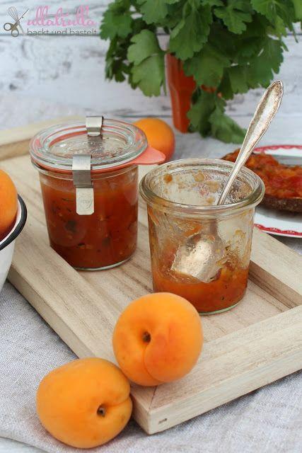 Rezept für leckeres Chutney mit Tomaten und Pfirsichen: http://ullatrullabacktundbastelt.blogspot.de/2017/06/tomaten-chutney-mit-pfirsichen-das.html