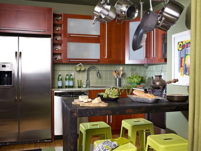 53 Wohnideen Küche für kleine Räume - Wie gestaltet man kleine Küchen?