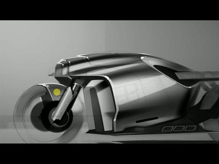 Motorbike Concept Photoshop Demo