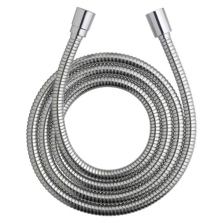 Waterpik Hos-396M 75-inch Stretchable Metal Shower Hose, Grey