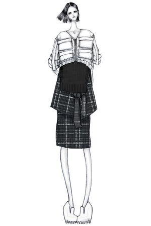 Fashion illustration - chic fashion design drawing // Issa Grimm