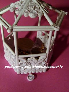 Quilling 3d gazebo - how-to