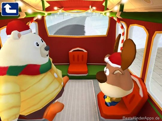 Dr. Pandas Weihnachts Bus Spiel - Kinder App iPad Android (5)