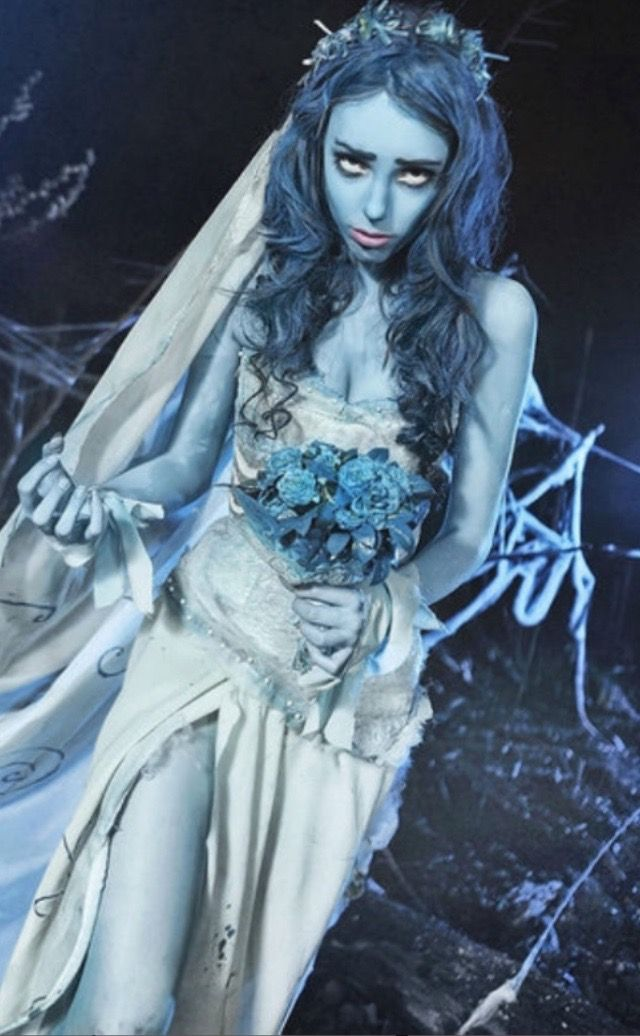Girl/'s Ghostly Alter Bride Spirit Costume