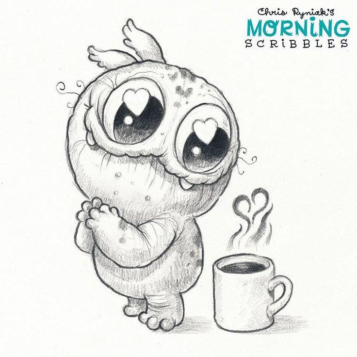 https://flic.kr/p/LYBVtF | Relationship goals. ☕️ #morningscribbles