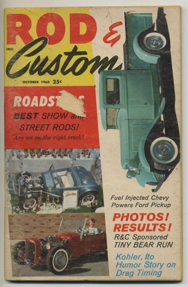 85 best Rod and Custom Magazine covers images on Pinterest | Antique ...