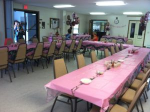 Pink Camouflage Baby Shower Theme