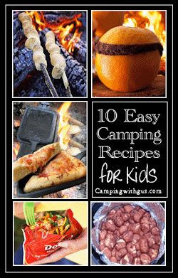 10 easy camping recipes that kids love - and they can help make these too!