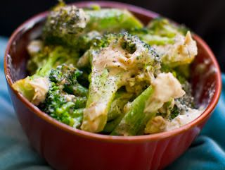 Two-ingredient Creamy Garlic Broccolirecipemain