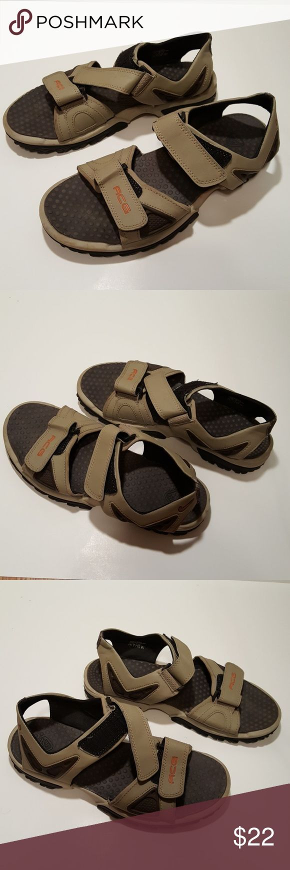 Nike ACG Mens Sandals Men's ACG sandals in good condition. Sandals show average signs of wear. Overall condition is great. Lightweight and ready for the outdoors. Nike ACG Shoes Sandals & Flip-Flops
